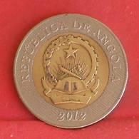 ANGOLA 10 KWANZAS 2012 -    KM# 110 - (Nº27222) - Angola