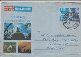 Sri Lanka Airmail Cover To USA, Stamps    (A-1076) - Sri Lanka (Ceylon) (1948-...)