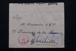 MALTE - Enveloppe De Valletta Pour La France En 1915 Avec Contrôle Postal - L 20906 - Malte