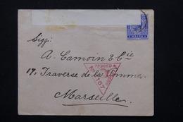 MALTE - Enveloppe De Valletta Pour La France Avec Contrôle Postal - L 20907 - Malte