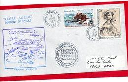 Pli De Terre Adélie De 1987 . - Timbres