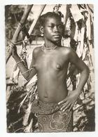 Congo Belge Jeune Femme Mongwandi Carte Postale Ancienne Seins Nus - Congo Belge - Autres