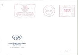 POSTMARKET CIO SUIZA - Juegos Olímpicos