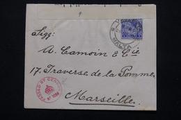 MALTE - Enveloppe De Valletta Pour La France En 1915 Avec Contrôle Postal - L 20908 - Malte