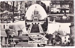Montmartre: FORD VEDETTE, VW 1200 KÄFER/COX, CITROËN TRACTION AVANT - Cinema Pigalle, Moulin Rouge, Napoléon  - (Paris) - Toerisme