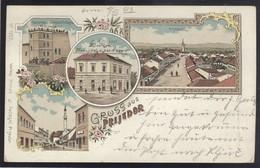 BOSNIA PRIJEDOR OLD POSTCARD 1903 LITHO GRUSS - Bosnie-Herzegovine