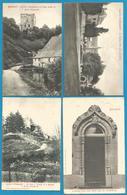 (G020) BEAUMONT - Château - Tour Salamandre - Moulin Leval-Chaudeville - Porte Saint Michel - Beaumont