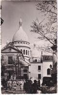 Paris: RENAULT GOÉLETTE 'Danone', CITROËN TRACTION AVANT - L'Église St-Pierre Et Le Sacré-Coeur - (1955) - Toerisme