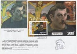 GAUGUIN Le Christ Jaune Bloc Feuillet 23 Septembre 2018 - FDC
