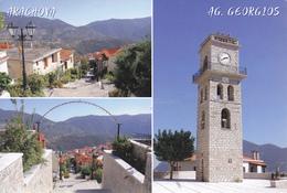 GRECE / MULTIVUES DU VILLAGE DE ARACHOVA - Greece