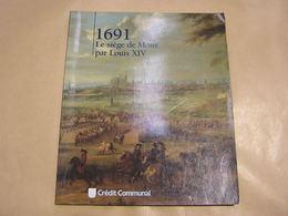 1691 LE SIEGE DE MONS PAR LOUIS XIV Régionalisme Hainaut Guerre Occupation Française Fortitications Vauban Carte Plan - Cultuur
