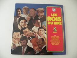 Les Rois Du Rire Français.Des Années 1959 à 1972 (Titres Sur Photos) - Vinyle 33 T LP Double Album - Comiques, Cabaret