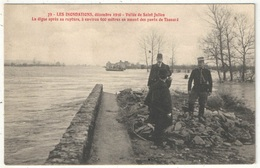 44 - Les Inondations, Décembre 1910 - Vallée De Saint-Julien - La Digue Après Sa Rupture - AN 79 - Saint Julien De Vouvantes