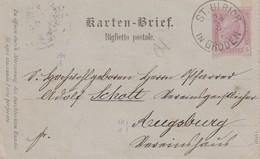AUTRICHE 1894    ENTIER POSTAL/GANZSACHE/POSTAL STATIONERY CARTE -LETTRE DE ST.ULRICH - Interi Postali