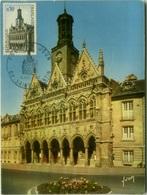 FRANCE - SAIT-QUENTIN - L'HOTEL DE VILLE - MAXIMUM CARD - 1967 (BG1973) - Maximum Cards