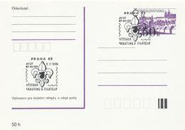 "I0519 - Czechoslovakia (1990) Praha 85: The Exhibition ""Scouting And Philately"" - Tchécoslovaquie"