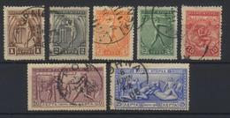 --- 1906 GRECE Yvert 165/171 (o) - Oblitérés