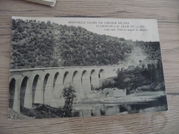 CPA 30 Gard  Nouvelle Ligne De Chemin De Fer D'Anduze à St Jean Du Gard Vue 11 Pont Tunnel Mialet  TBE - France
