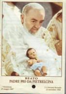Reliquia Del Beato Padre Pio  , Santino Pieghevole Con Preghiera - Religione & Esoterismo