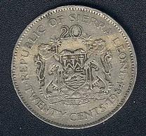 Sierra Leone, 20 Cents 1984 - Sierra Leone