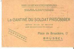 G.14-18 La Cantine Du Soldat Prisonnier  - Holzminden 5/11/1917 Soldat Olligslager Arthur - Guerra '14-'18