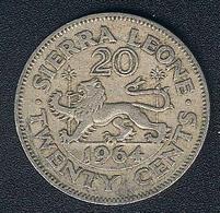 Sierra Leone, 20 Cents 1964 - Sierra Leone