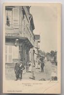 FOUGEROLLES (70 - Haute Saone) - 1904 - Grande Rue - Animée - Autres Communes