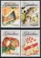 2005 Gibraltar    Mi. 1122-5 **MNH  Europa: Gastronomie. - Europa-CEPT