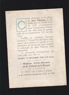Aviation - Programme Inauguration Déc 1938, Stèle Jean Mermoz Sculpteur Georges Guiraud - Programs