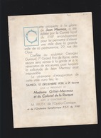 Aviation - Programme Inauguration Déc 1938, Stèle Jean Mermoz Sculpteur Georges Guiraud - Programmes