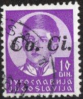 ITALIA, ITALY, TERRITORI OCCUPATI, LUBIANA, 1941, FRANCOBOLLO USATO, Mi 1, Un 12, Sass 18, Scott N12 - Lubiana