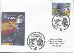 GUADALAJARA CC CON MAT PRESENTACION GEO POLICIA POLICE - Police - Gendarmerie