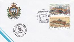 1988 SAN MARINO FDC L'AIA - FDC