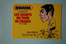 CYCLISME:EDDY MERCKX - Cyclisme