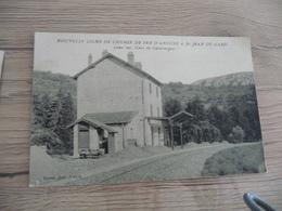 CPA 30 Gard  Nouvelle Ligne De Chemin De Fer D'Anduze à St Jean Du Gard Vue 10 Gare De Générargues TBE - France