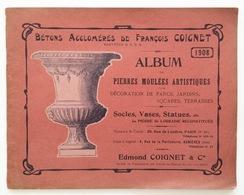 Album De Pierres Moulées Artistiques. - Paris : Edmond Coignet & Cie, 1908 - Art
