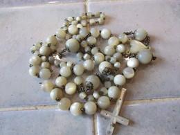 Perles En Nacre De Chapelet Casser - Autres