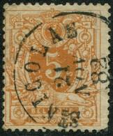 """COB   28 (o) Oblitération """"St-Nicolas"""" T0 - 1869-1888 Lion Couché"""