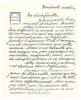 Feuille Courrier Hôtel Aletti Alger - France