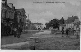 NEUBOURG  -  PLACE  DU  MARCHÉ  AUX  COLZAS - France