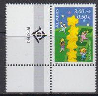Europa Cept 2000 Aland 1v  (corner, Logo) ** Mnh (41679K) - Europa-CEPT
