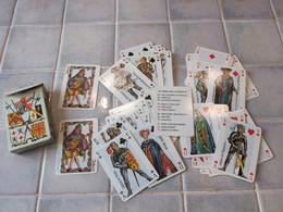 Jeu De 54 Cartes  Jeanne D Arc Et Charles Vll - Dusserre Paris Made In France - Other Collections