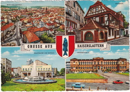 Kaiserslautern: OPEL KAPITÄN P1 & KADETT-B - Gewerbemuseum - Pfalztheater Und Rathaus - Toerisme
