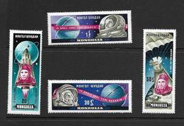 MONGOLIE 1961 ESPACE YVERT N°193/96 NEUF MNH** - Space