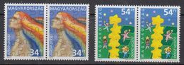 Europa Cept 2000 Hungary 2v (pair) ** Mnh (41680F) - Europa-CEPT