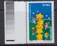 Europa Cept 2000 Romania 1v (+margin) ** Mnh (41680H) - Europa-CEPT