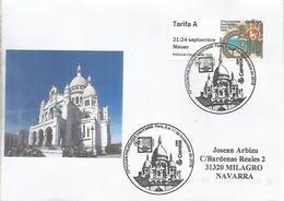 PARIS CORREO ESPAÑOL CC CON MAT SALON DE AUTOMME SACRE COUER ARQUITECTURA ATM - Iglesias Y Catedrales