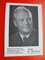 Landeshauptmann Dr.Gleissner.Wahl Gleissner-Liste 1 - Partis Politiques & élections