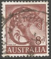 Australia. 1959-64 Definitives. 8d Used. SG 317 - 1952-65 Elizabeth II : Pre-Decimals