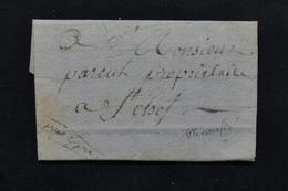 FRANCE - Lettre Ancienne à Identifiée -  L 20930 - Marcophilie (Lettres)